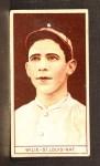 1912 T207 #196   Ernest 'Dewey' Wilie   Front Thumbnail