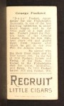 1912 T207 #147   Dode Paskert   Back Thumbnail