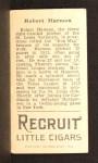 1912 T207 #76   Bob Harmon Back Thumbnail