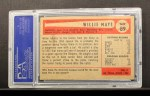 1954 Bowman #89  Willie Mays  Back Thumbnail