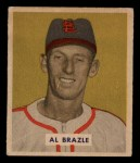 1949 Bowman #126 PRT Al Brazle  Front Thumbnail