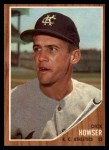 1962 Topps #13   Dick Howser Front Thumbnail