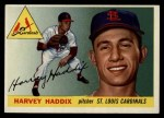 1955 Topps #43  Harvey Haddix  Front Thumbnail