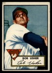 1952 Topps #157  Bobby Usher  Front Thumbnail