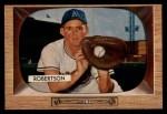 1955 Bowman #5   Jim Robertson Front Thumbnail