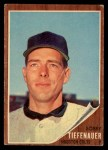 1962 Topps #227  Bob Tiefenauer  Front Thumbnail
