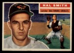 1956 Topps #62   Hal W. Smith Front Thumbnail