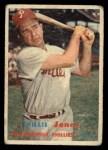 1957 Topps #174  Willie Jones  Front Thumbnail