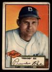 1952 Topps #66 BLK  Preacher Roe Front Thumbnail