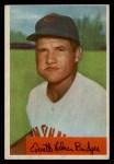 1954 Bowman #156 2B  Rocky Bridges Front Thumbnail