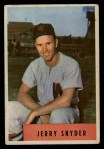 1954 Bowman #216 ALL  Jerry Snyder  Front Thumbnail