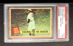 1962 Topps #142 GRN Coaching for the Dodgers  -  Babe Ruth Front Thumbnail