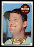 1969 Topps #285  Don Mincher  Front Thumbnail