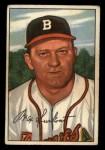 1952 Bowman #12  Max Surkont  Front Thumbnail