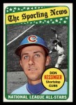 1969 Topps #422  All-Star  -  Don Kessinger Front Thumbnail