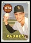 1969 Topps #473 YN  Jose Arcia Front Thumbnail