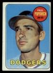 1969 Topps #47 B Paul Popovich   Front Thumbnail