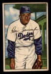 1952 Bowman #128   Don Newcombe Front Thumbnail