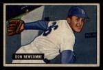 1951 Bowman #6  Don Newcombe  Front Thumbnail