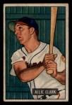 1951 Bowman #29   Allie Clark Front Thumbnail