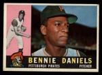 1960 #91  Bennie Daniels  Front Thumbnail