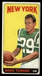 1965 Topps #129   Bake Turner Front Thumbnail