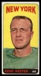 1965 Topps #115   Gene Heeter Front Thumbnail