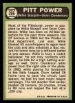 1967 Topps #266   -  Willie Stargell / Donn Clendenon Pitt Power Back Thumbnail