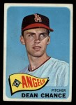 1965 Topps #140  Dean Chance  Front Thumbnail