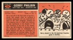 1965 Topps #124  Gerry Philbin  Back Thumbnail