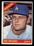 1966 Topps #430   Don Drysdale Front Thumbnail