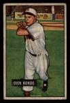 1951 Bowman #68  Dick Kokos  Front Thumbnail