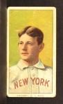 1909 T206 #87  Jack Chesbro  Front Thumbnail