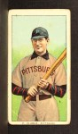 1909 T206 #91 BAT Fred Clarke  Front Thumbnail