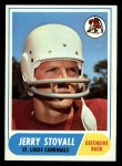 1968 Topps #112  Jerry Stovall  Front Thumbnail
