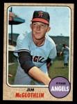 1968 Topps #493   Jim McGlothlin Front Thumbnail