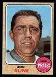 1968 Topps #446   Ron Kline Front Thumbnail