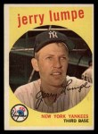 1959 Topps #272   Jerry Lumpe Front Thumbnail