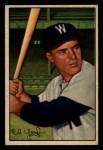 1952 Bowman #31  Eddie Yost  Front Thumbnail