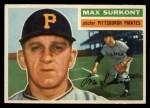1956 Topps #209   Max Surkont Front Thumbnail