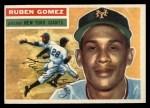 1956 Topps #9   Ruben Gomez Front Thumbnail