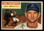 1956 Topps #106   Joe Astroth Front Thumbnail