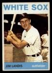 1964 Topps #264   Jim Landis Front Thumbnail