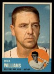 1963 Topps #328   Dick Williams Front Thumbnail
