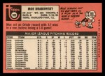 1969 Topps #508  Moe Drabowsky  Back Thumbnail