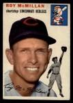1954 Topps #120   Roy McMillan Front Thumbnail