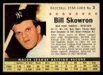 1961 Post Cereal #3 COM  Bill Skowron  Front Thumbnail