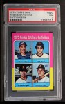 1975 Topps Mini #620   Rookie Catchers-Outfielders  -  Gary Carter / Marc Hill / Danny Meyer / Leon Roberts Front Thumbnail
