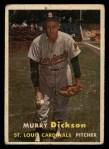 1957 Topps #71  Murry Dickson  Front Thumbnail