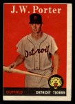 1958 Topps #32 WN J.W. Porter  Front Thumbnail